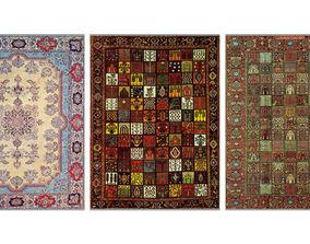 Persian carpet second series 3D model