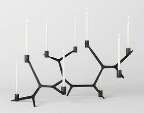 Agnes Candelabra Table 3D model