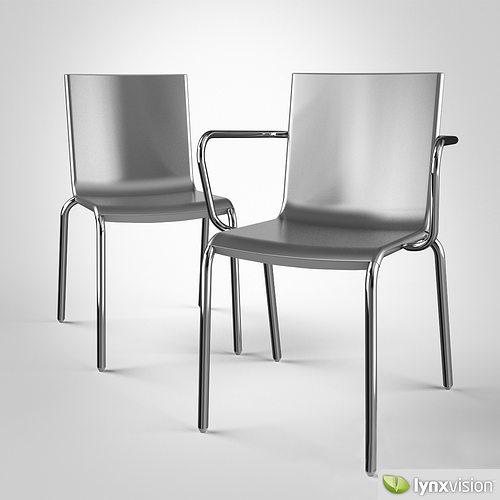 Alo Chair By Magis 3D Model MAX OBJ FBX
