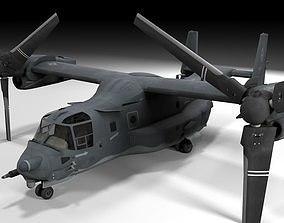 v22 osprey Lowpoly 3D model