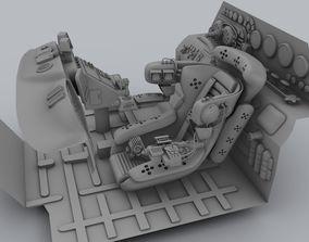 3D model Future Interior Vehicle