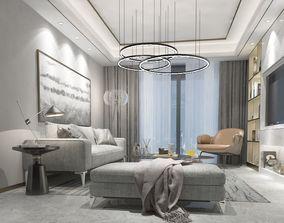 3D model Interior Bedroom
