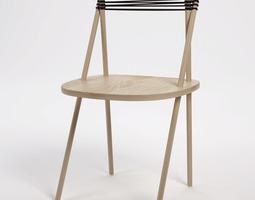3D model purist chair