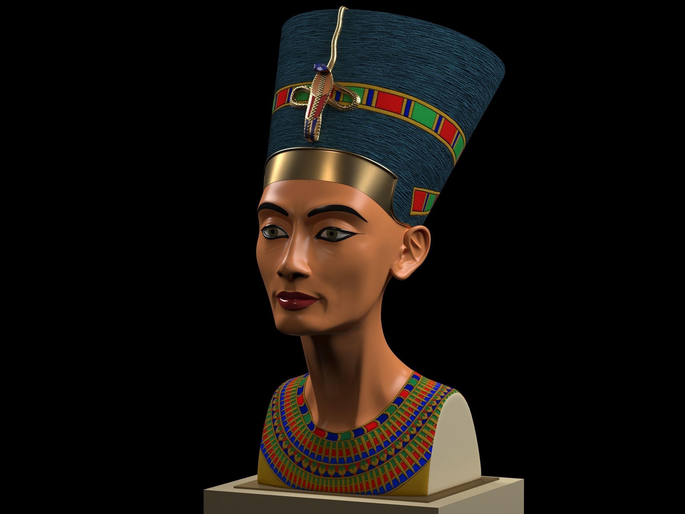 Nefertiti Bust restored