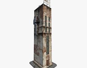 Cartoony Building 3D model