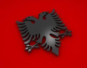 Albanian Eagle 3D model