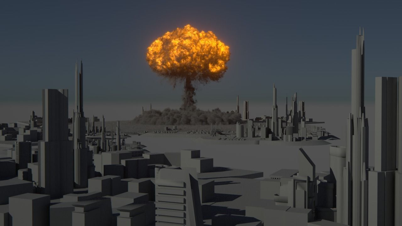 Houdini Power Asset - Nuclear Explosion