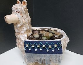 3D print model Lama Flower Pot