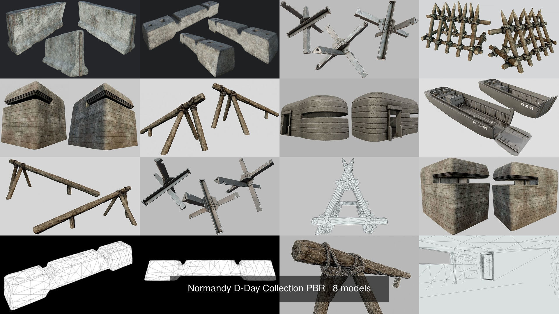 Normandy D-Day Collection PBR