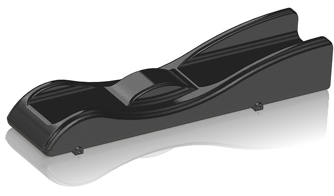 batmobile pinewood derby car 3d model obj stl 1