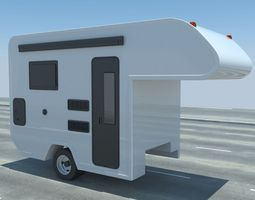camper 3d model max obj 3ds fbx