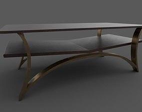3D model Bronze table