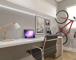 home office 2 3D