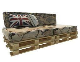 3D pallet sofa