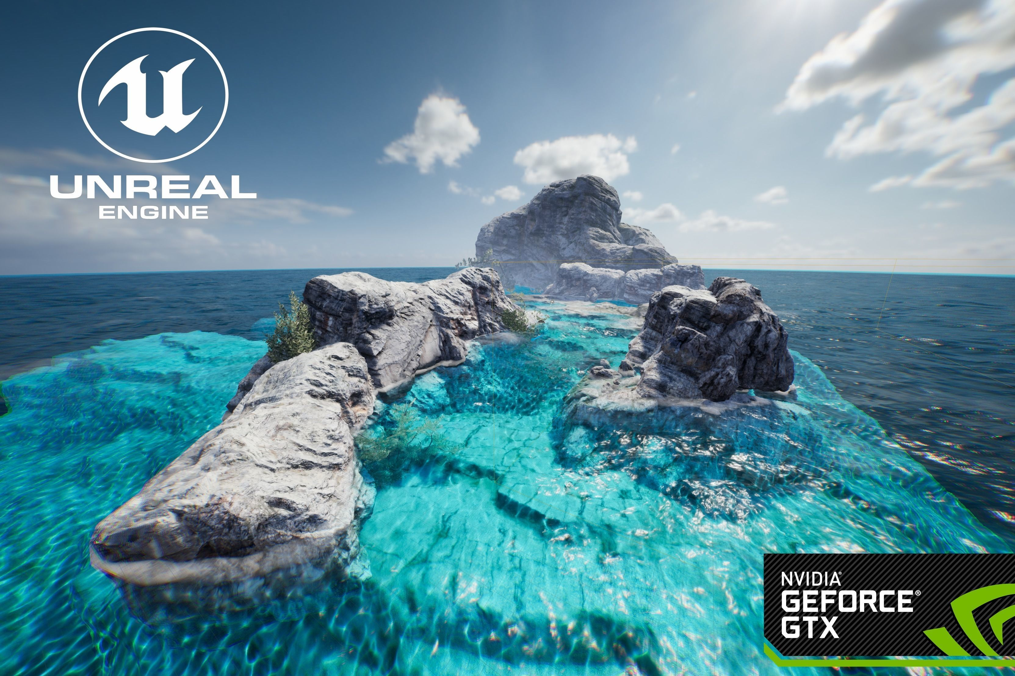 Unreal engine 4 OlympicShader | 3D model