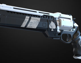 3D printable model Ace of spades Hand cannon - Destiny
