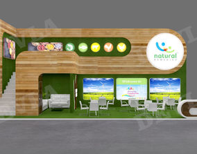 3D model Exhibition stand 06