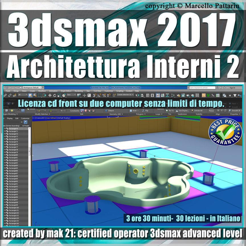 031 3ds max 2017 Architettura Interni vol 31 Italiano cd front