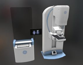 General Electric Healthcare Mammography System 3D model