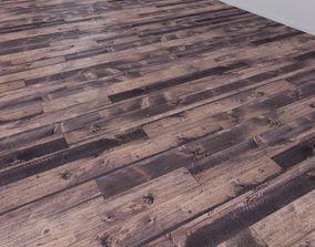 3D model Vintage Old Hardwood Multi Texture Solid Boards