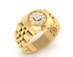 RING 4145 Beautiful Watch Ring 3D print model