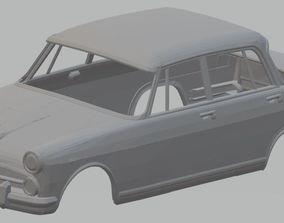Alfa Romeo 2000 1957 Printable Body Car