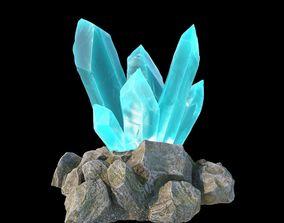 3D model PBR Magic crystals