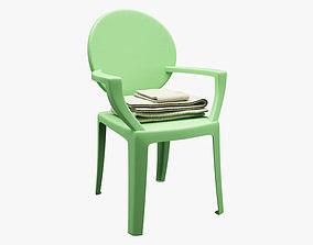 Realistic Chair 022 3D asset