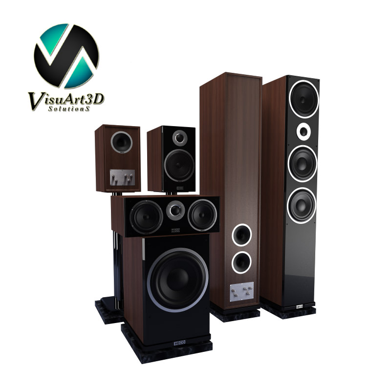 Speakers Heco Metas XT Set