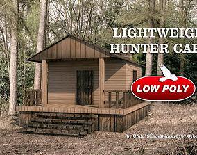 3D asset Low Poly Hunter Cabin