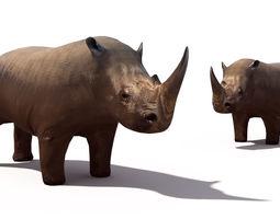 game-ready rhino 3d model