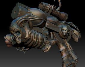 Revolver Psychopompe 3D print model