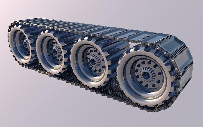 tank wheel 3d model obj mtl 3ds fbx c4d stl dae 1