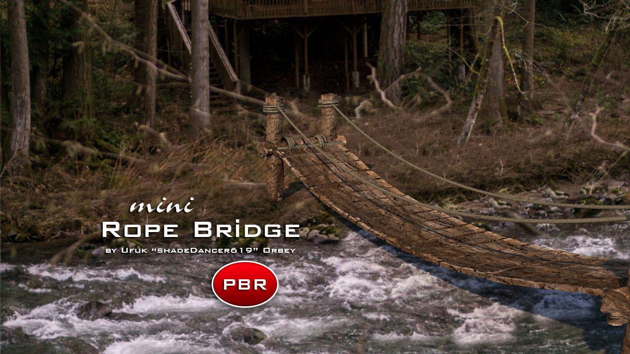 Mini Rope Bridge