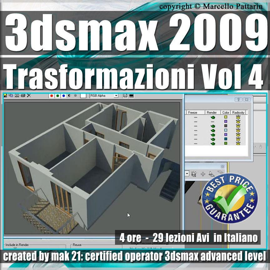 004 Corso 3ds max 2009 Le Trasformazioni vol 4