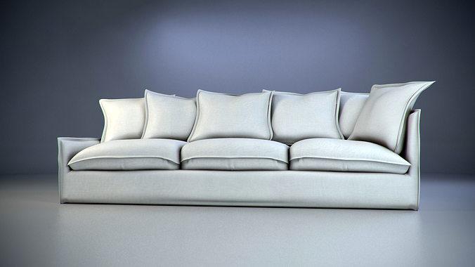 modern sofa 3d model max 1