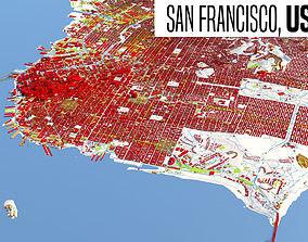 Citymap San Francisco 3D