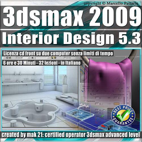 005 3 3ds max 2009 interior design v 5 3 italiano cd front 3d model max pdf 1