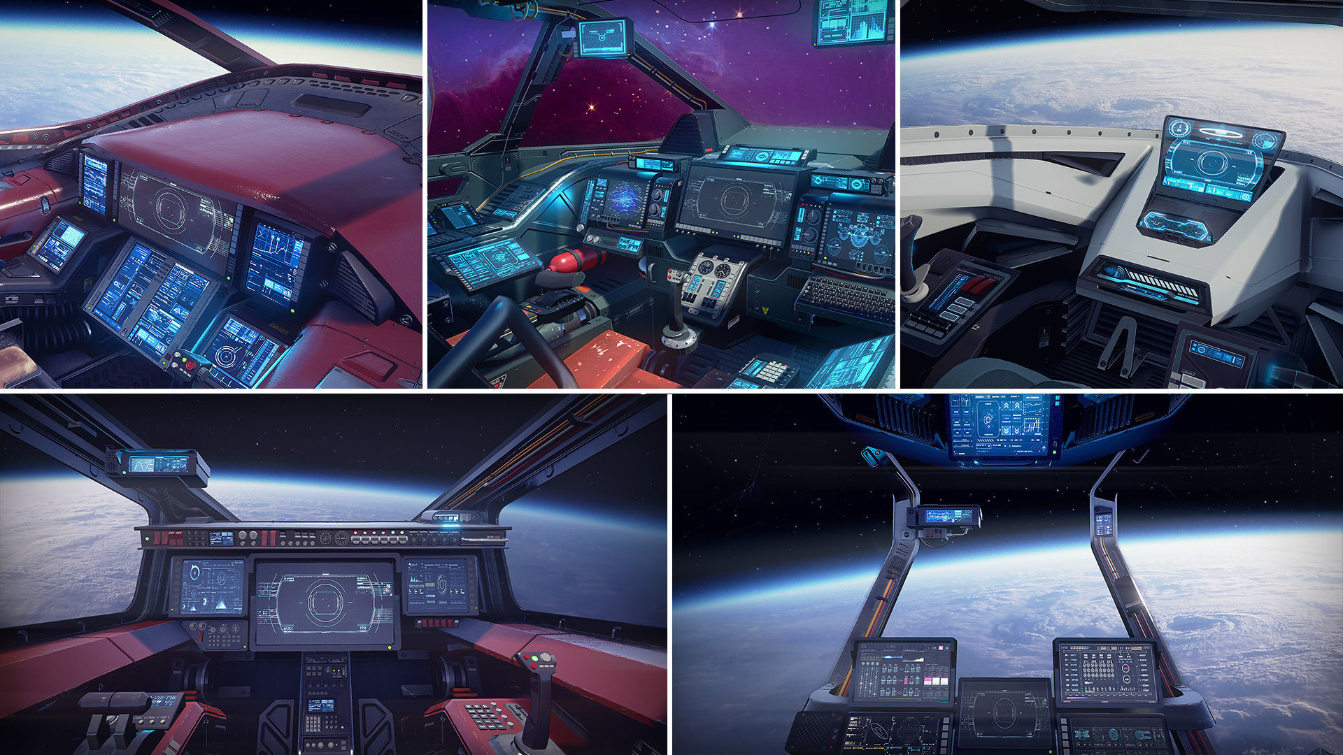 Sci Fi Cockpits Collection
