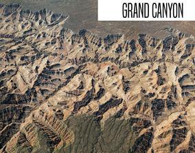 Grand Canyon 40x40 km 3D