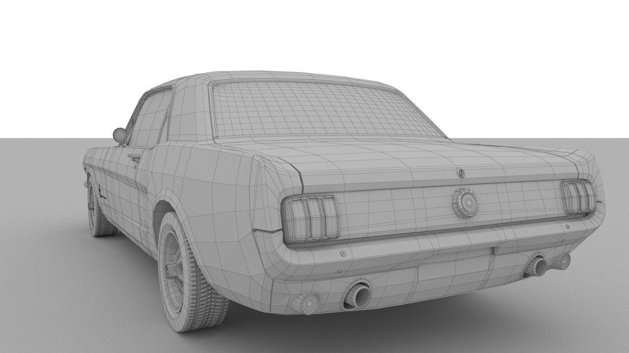 Ford Mustang 1965 Model Car