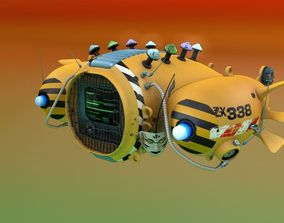 3D Television Ballon 2076