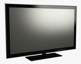 3D asset Generic TV 002