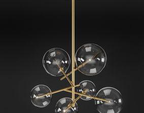 Massimo Castagna Bolle Lamp 3D model
