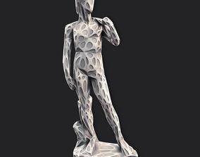 3D print model David Stylized 2