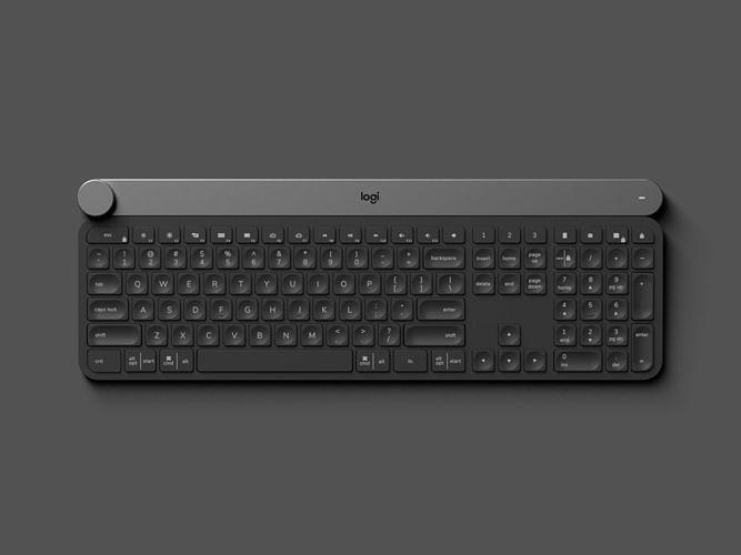 logitech craft - keyboard 3d model obj mtl 3ds fbx 1