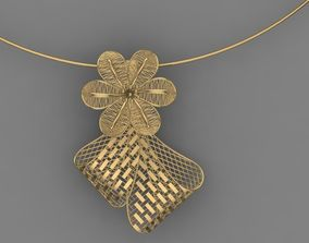 Vision Flower Necklace - 027 3D print model