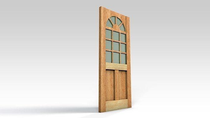 Entrance door - with window