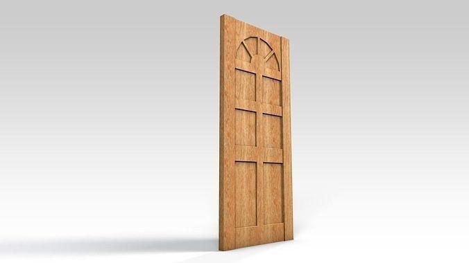 Entrance door - no window