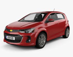 3D model Chevrolet Sonic hatchback RS 2017